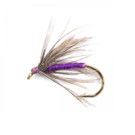 Snipe & Purple wet fly per dozen